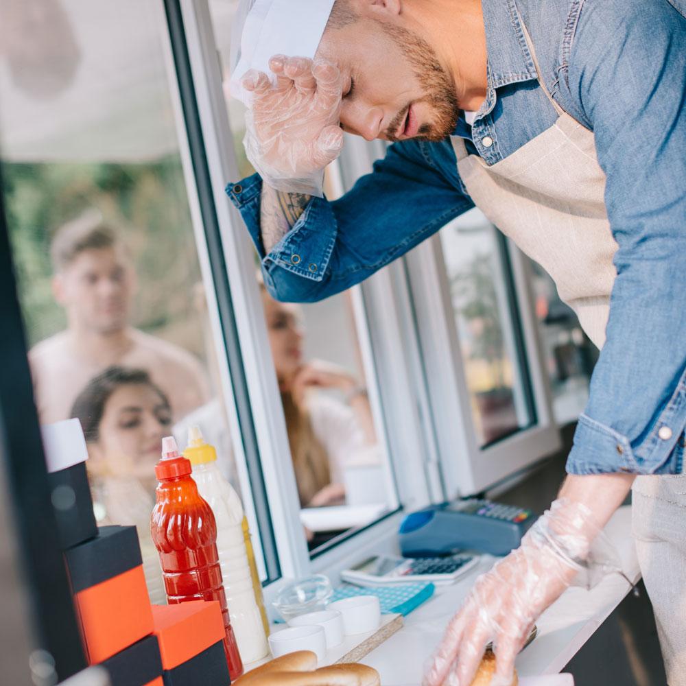 Arbeiten in Fast Food Ketten